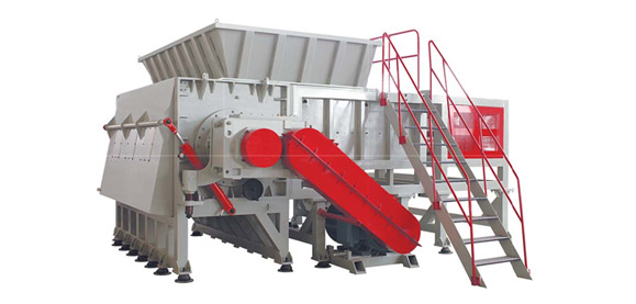 DYSSZ Heavy Single Axle Shredder