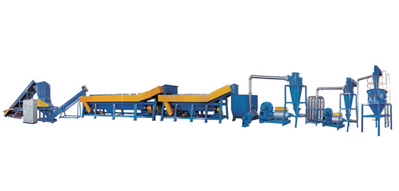 DYQX Series Lumpish Plastic, Film Crushing, Washing And Recycling Line