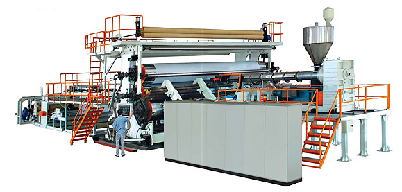 PE Extra-width Geomembrane/Waterproof Sheet Extrusion Line