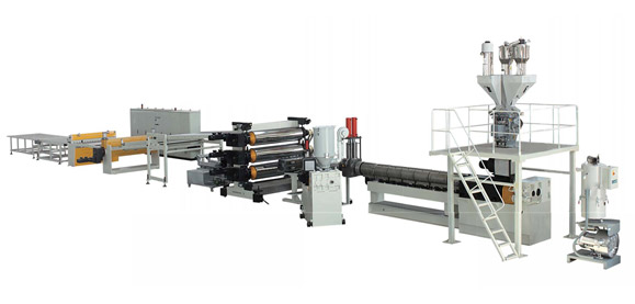 ABS、HIPS Single、Multi-layer Plate Extrusion Line
