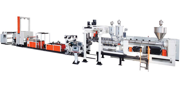 PP/PS/EVOH Sheet Extrusion Line