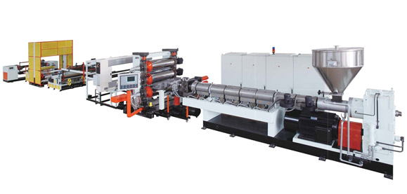 PP/PS Sheet Extrusion Line