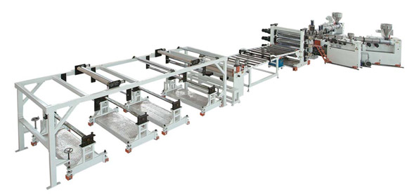 PP & Calcium Powder Environmental Protection Sheet Extrusion Line