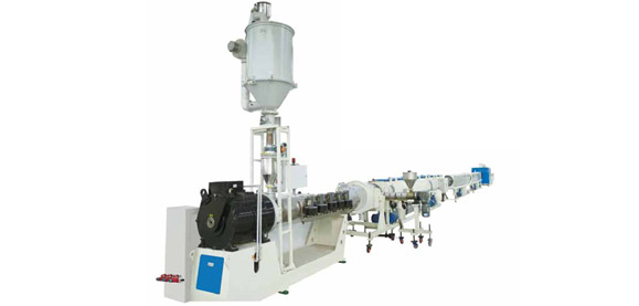 HDPE Water Suppply Pipe, Gas Pipe Energy-saving and High Speed Extrusion Line Featured Image