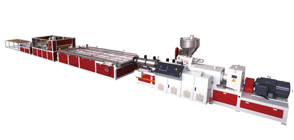 YF Series PE,PP And Wood, PVC And Wood (Foamed) Panel Extrusion Line