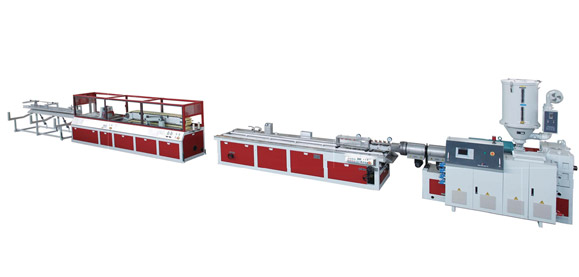 PVC Single-screw WPC (foaming) Extrusion Line