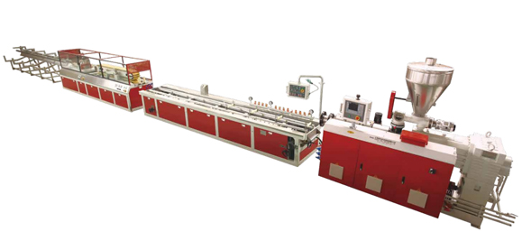 PVC Wood-Plastic One Step Extrusion Line