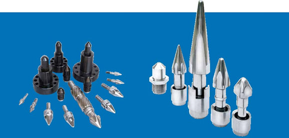Accessories of screw and barrel for injection molding