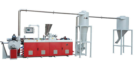 JWE Co-rotation Parallel Twin-screw Pelletizing Machine