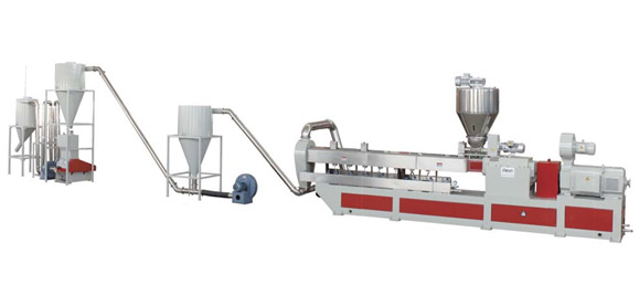 WPC pelletizing machine