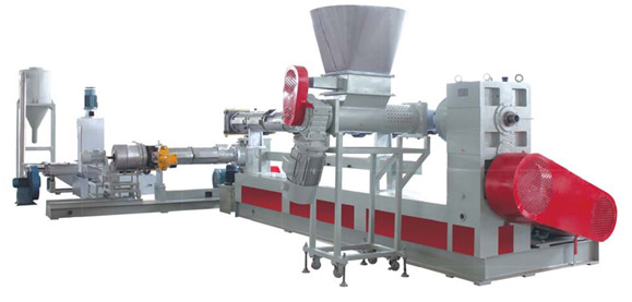 JWS Double Steps Type PP/PE Thin Film And PP Woven Bag Recycling Pelletizing Machine