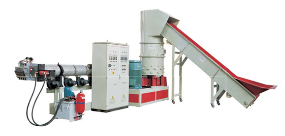 JWP Series Three Machine Integration Pelletizing Machine