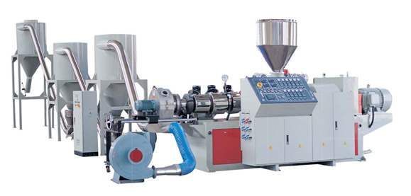 SJZ Series Counter Rotation Conical Twin-screw Pelletizing Machine
