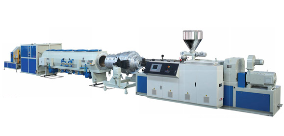 UPVC Pipe And CPVC Solid Pipe Extrusion Line