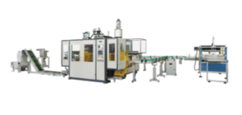 JWZ-02D/05D/12D/20D Double Station Blow Molding Machine